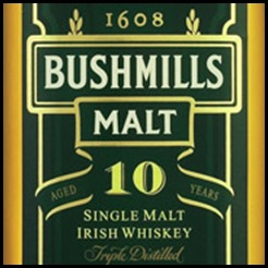 bushmill 10 yr single
