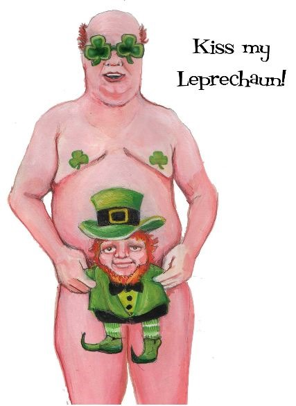 Impish On St. Patricks Day
