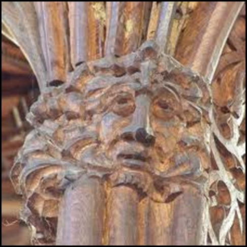 Green man hidden church