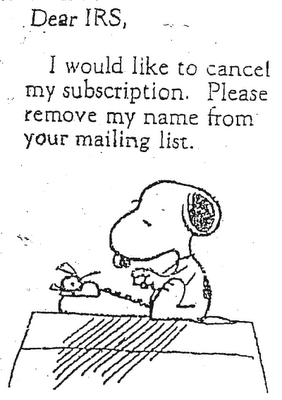 Snoopy-Writes-A-Letter-To-The-IRS