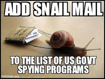snail mail spying