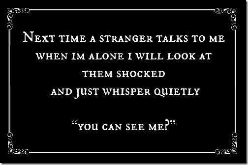 talk to stranger