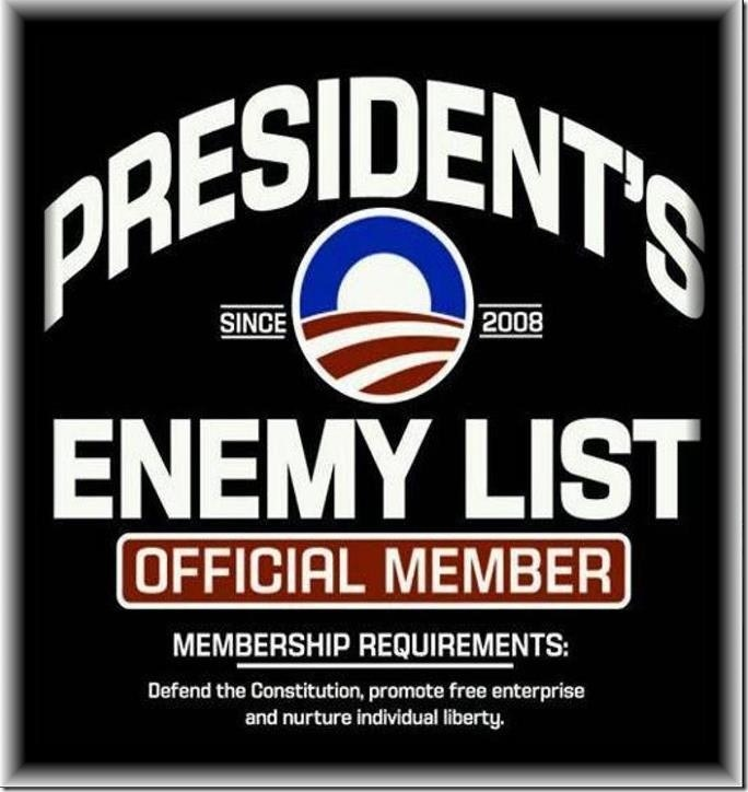 Obama's Enemy List