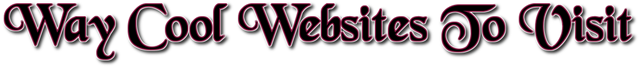 Websites to visit