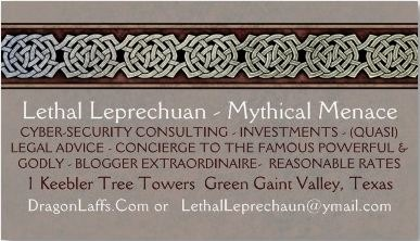Lethal's Business Card