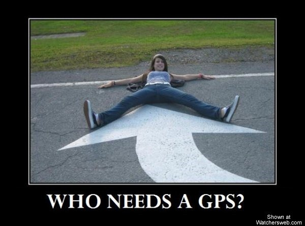 Who needs GPS
