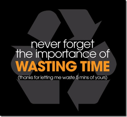 Import of wasting time