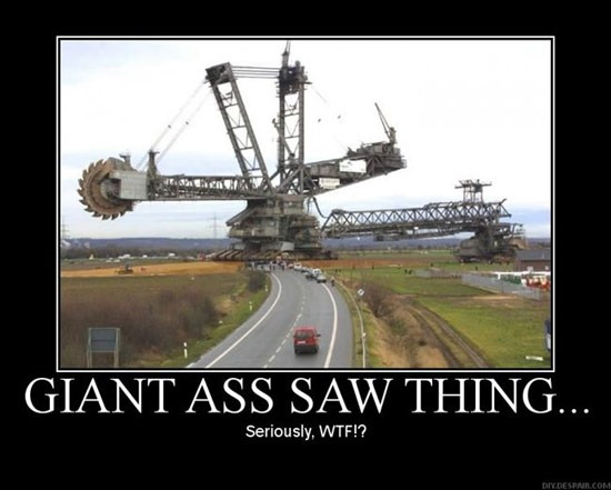 Giant Saw Thing