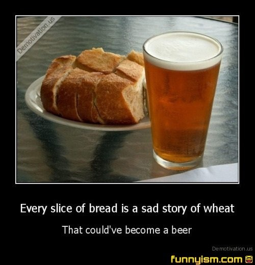 every slice of bread