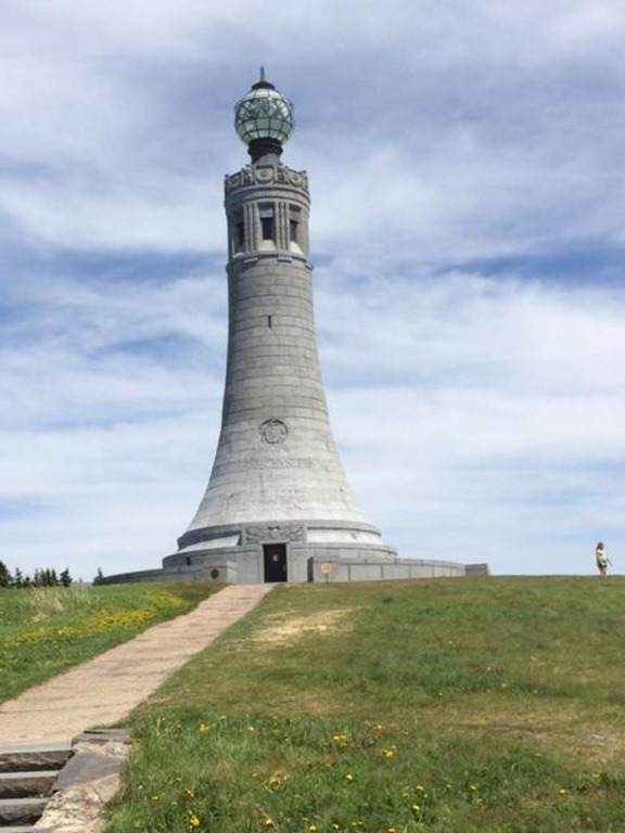 Massachusetts Veterans War Memorial Tower. Mt. Greylock