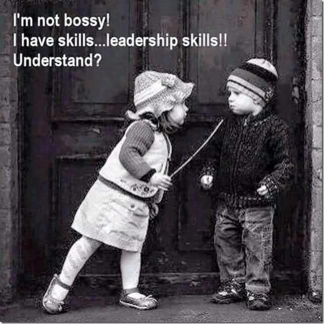 No Bossy - Leadership skills