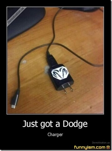 just got a dodge