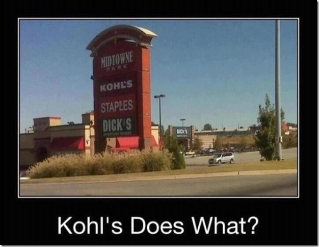 Khol's does what