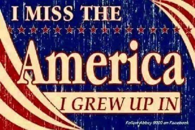 I miss the America