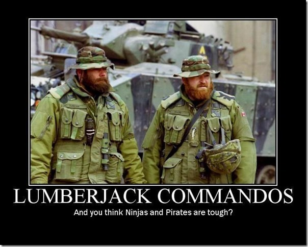 lumberjack-commandos