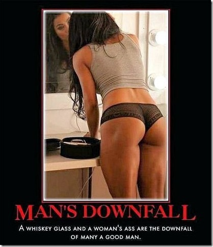 man's downfall