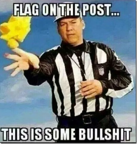 Ref with BS Flag