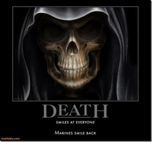 marine death
