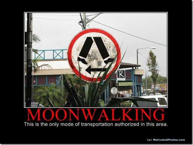 Moon walking