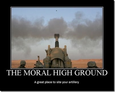Moral High Ground
