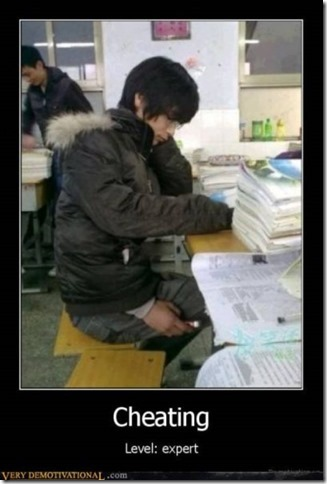 Motivational Cheating