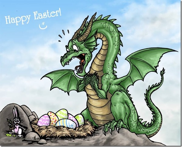 Easter Dragon Eggs xD