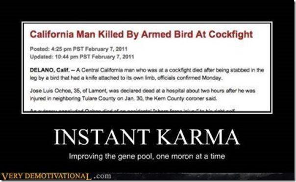 Motivational Instant Karma