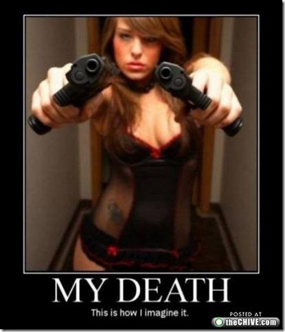 My death