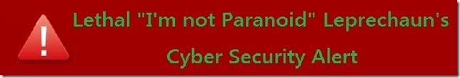 CYber Security Alert