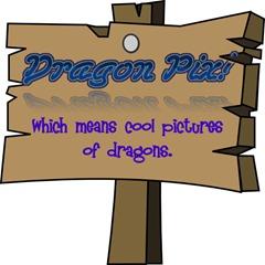 Dragon pic sign
