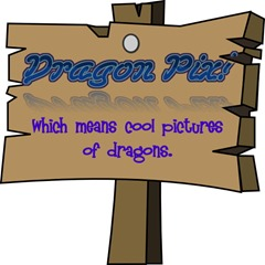 Dragon pic sign