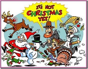 Not Christmas yet