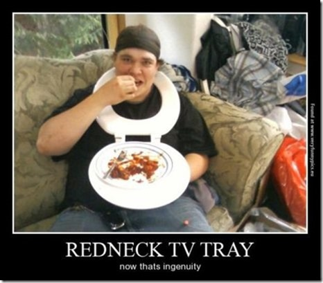 Redneck TV Tray