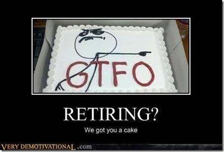retiring