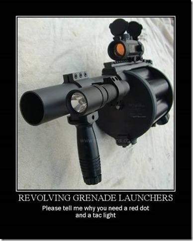 Revolving Grenade Launchers