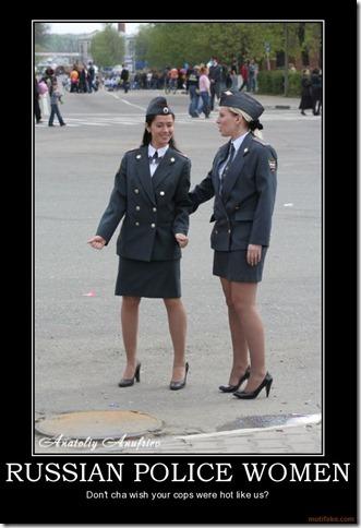 Russian Police Women