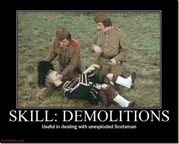 Skill Demolitions