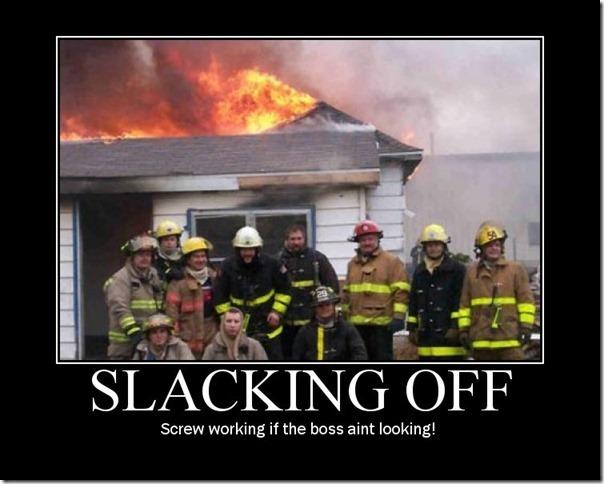 Slacking Off