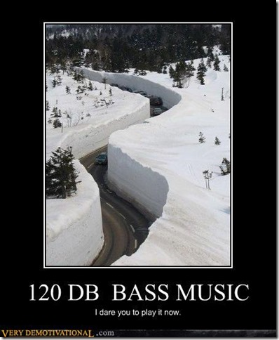 120DB Bass Music