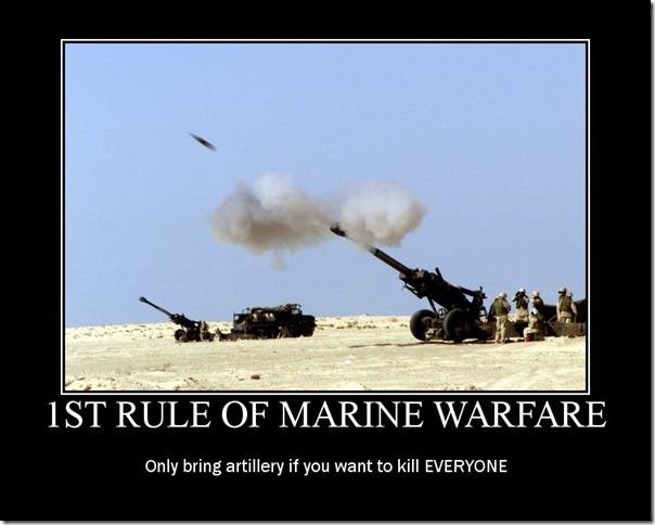1st Rule of Marine Warfare