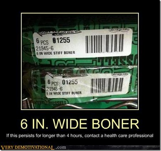 6 in. wide boner