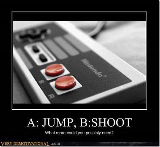 A Jump  B Shoot