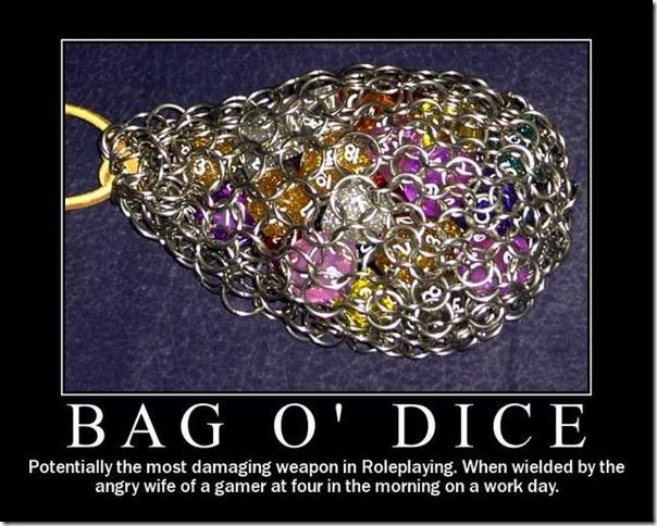 Bag o dice