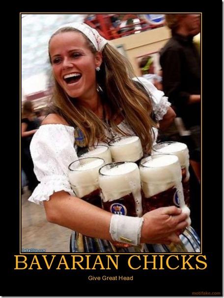 Bavarian Chicks