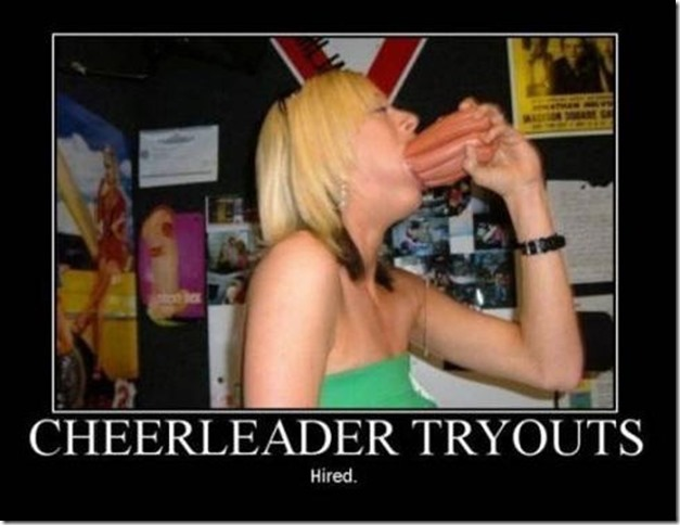 cheerleader tryouts