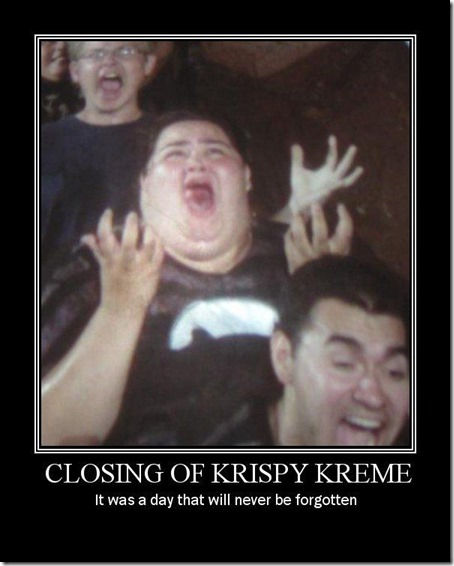 Closing of Krispy Kreme