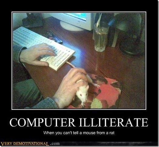 Computer Illiterate