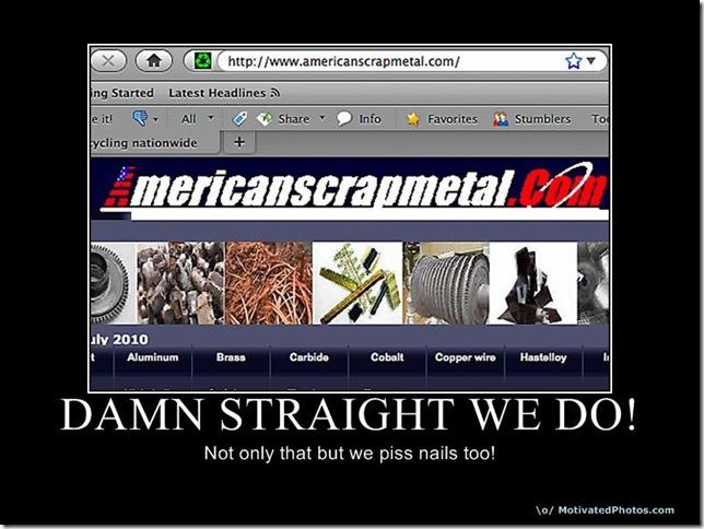 Damn Straight We Do