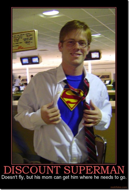 Discount Superman
