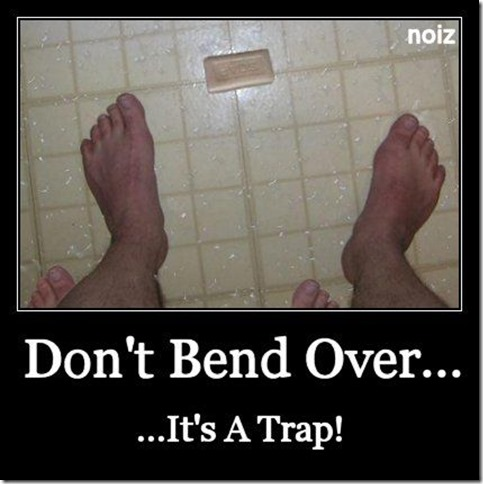 Don't bend over